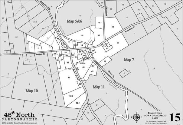 MONROE TAX MAP 15